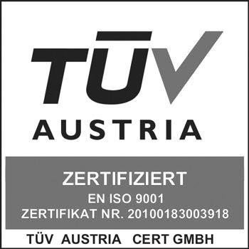 Westernacher Solutions ist DIN EN ISO 9001 zertifiziert